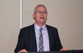 Forest Minister Doug Donaldson