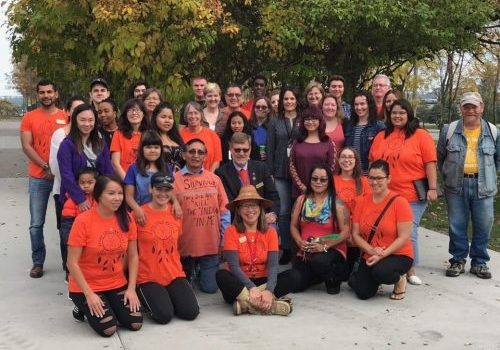 Orange Shirt day at the College of New Caledonia. CNC photo