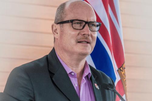 Liberal leadership hopeful Mike de Jong