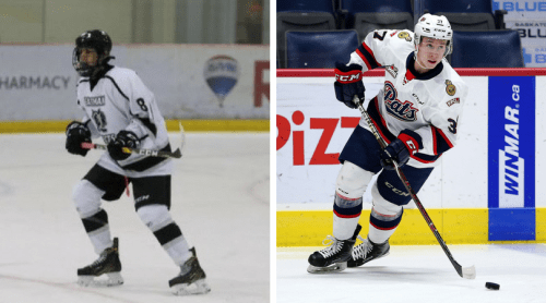Ethan McColm (L) and Kjell Kjemhus (R). Photos courtesy of the Prince George Cougars