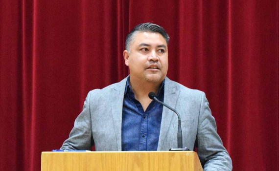 BC Assembly of First Nations Regional Chief Terry Teegee. Bill Phillips photo