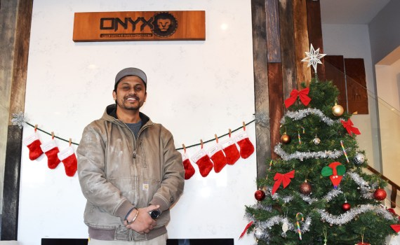 Onyx Stones and Custom Cabinet president Bikram Sahi says the company continues to grow and has purchased a building on Fourth Avenue that will house a new showroom. Bill Phillips photo