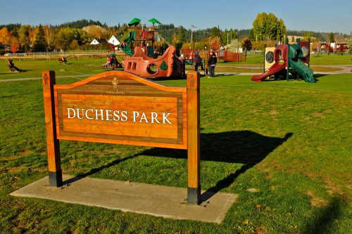 On Thursday, Duchess Park Playground will be closed for construction as crews work to install new fall protection at the facility, which will make the playground completely accessible to wheelchair users. City of Prince George photo