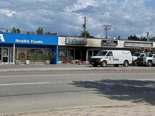 Business damaged by fire, investigators say cause 'suspicious'
