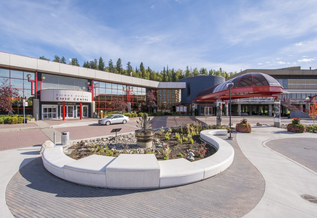 The Prince George Conference and Civic Centre (pictured) first opened its doors on February 11, 1994 as northern British Columbia's premier meeting and conference venue. City of Prince George photo
