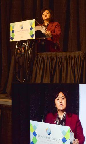 First Nations LNG Alliance CEO Karen Ogen-Toews.