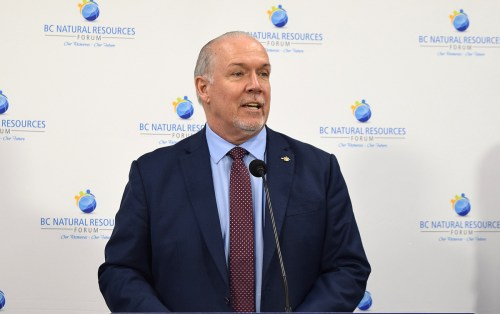 WATCH: Premier John Horgan gives update on immunization plan