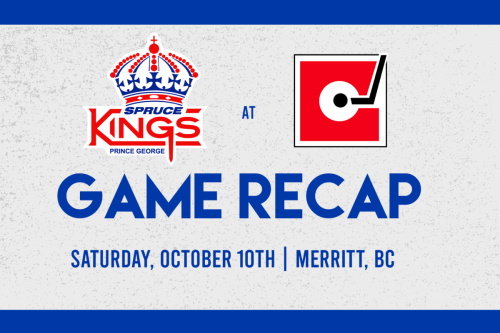 Spruce Kings chalk up first win of pre-season in Merritt