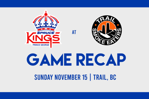Spruce Kings drop 2-1 decision to Smoke Eaters in shootout
