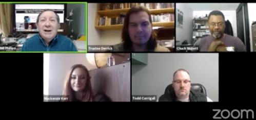 School Board chair Trent Derrick talks schools and COVID