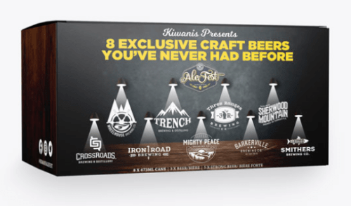 Celebrate Kiwanis AleFest at home with eight exclusive beers you've never had before