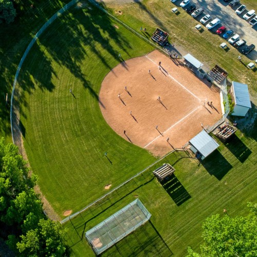 Sport fields and ball diamonds opening