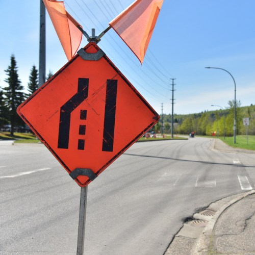 Traffic disruptions on Ospika to allow for utility operation