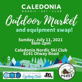 Three groups band together for outdoor market and equipment swap