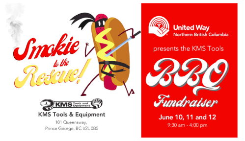 Smokie to the Rescue barbecue helps the United Way