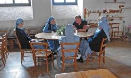 Overleg met de zusters in Grandchamp