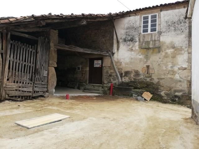 Casa de piedra en el Camino de Santiago, Palas de Rei