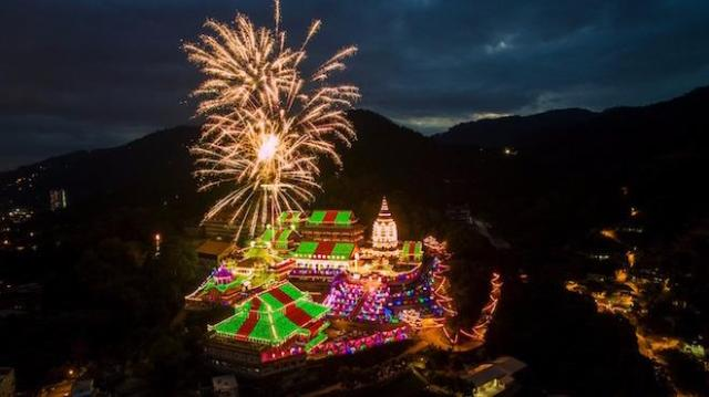 Kek Lok Si Temple Display Of Lights 2017