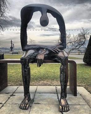 Melancholy, the emptiness that incapacitates us through grief