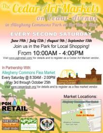 Cedar Arts Market Summer Series