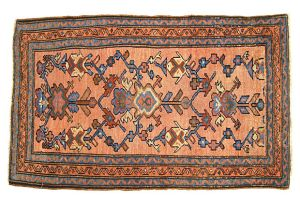 "Vintage Persian Hamadan Rug, size 4'4"" x 2'2"", on sale at Houzz.com"