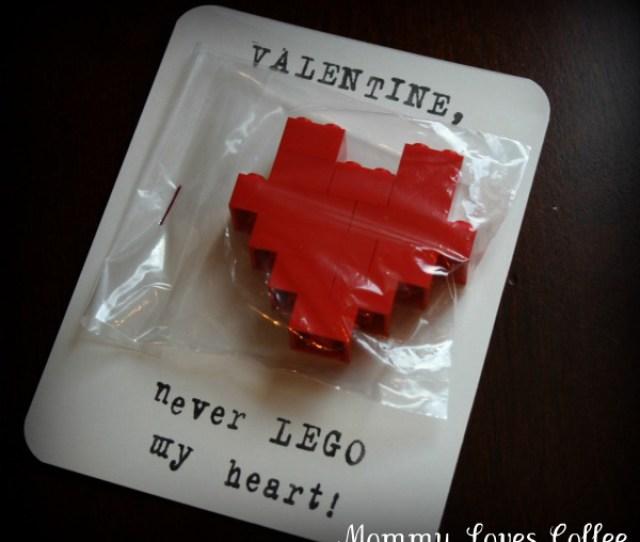 Lego Valentines Day Card