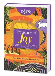 A great holiday gift for seniors and grandparents is the Treasury of Joy and Inspiration Readers Digest book.