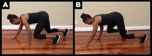 Get is shape by doing crawl workout.