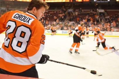 Hockey player, Claude Giroux's, breakfast pics.