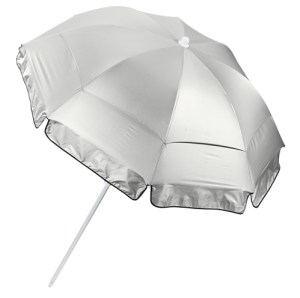 Coolibar's 6' Titanium Beach Umbrella is a Skin Cancer Foundation's Seal of Reccommendation product.