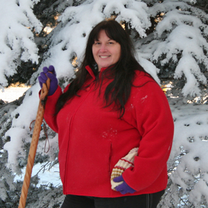 Susie pictured at 340 pounds in 2007, prior to COPD diagnosis