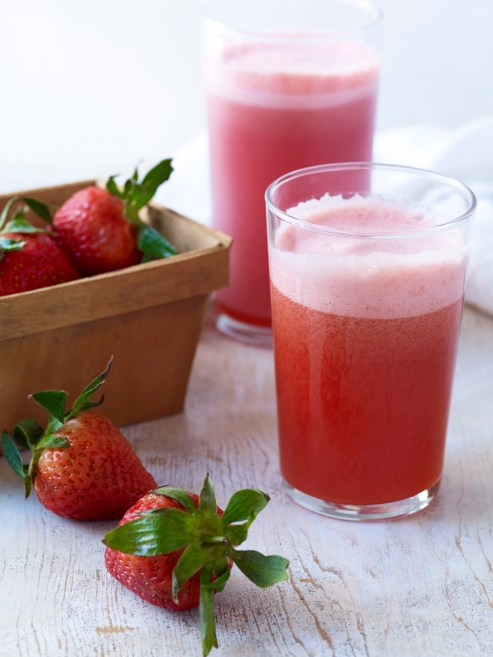 Juice It_Strawberry Vanilla Spritzer