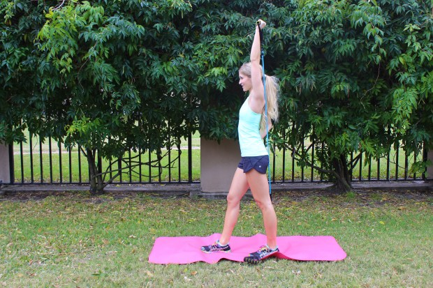 single arm overhead extensions 2