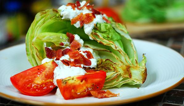 Grilled Iceberg Lettuce Wedge | SpryLiving.com