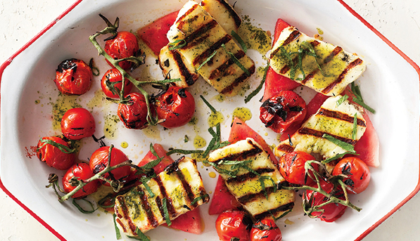 Grilled Haloumi Cheese | SpryLiving.com