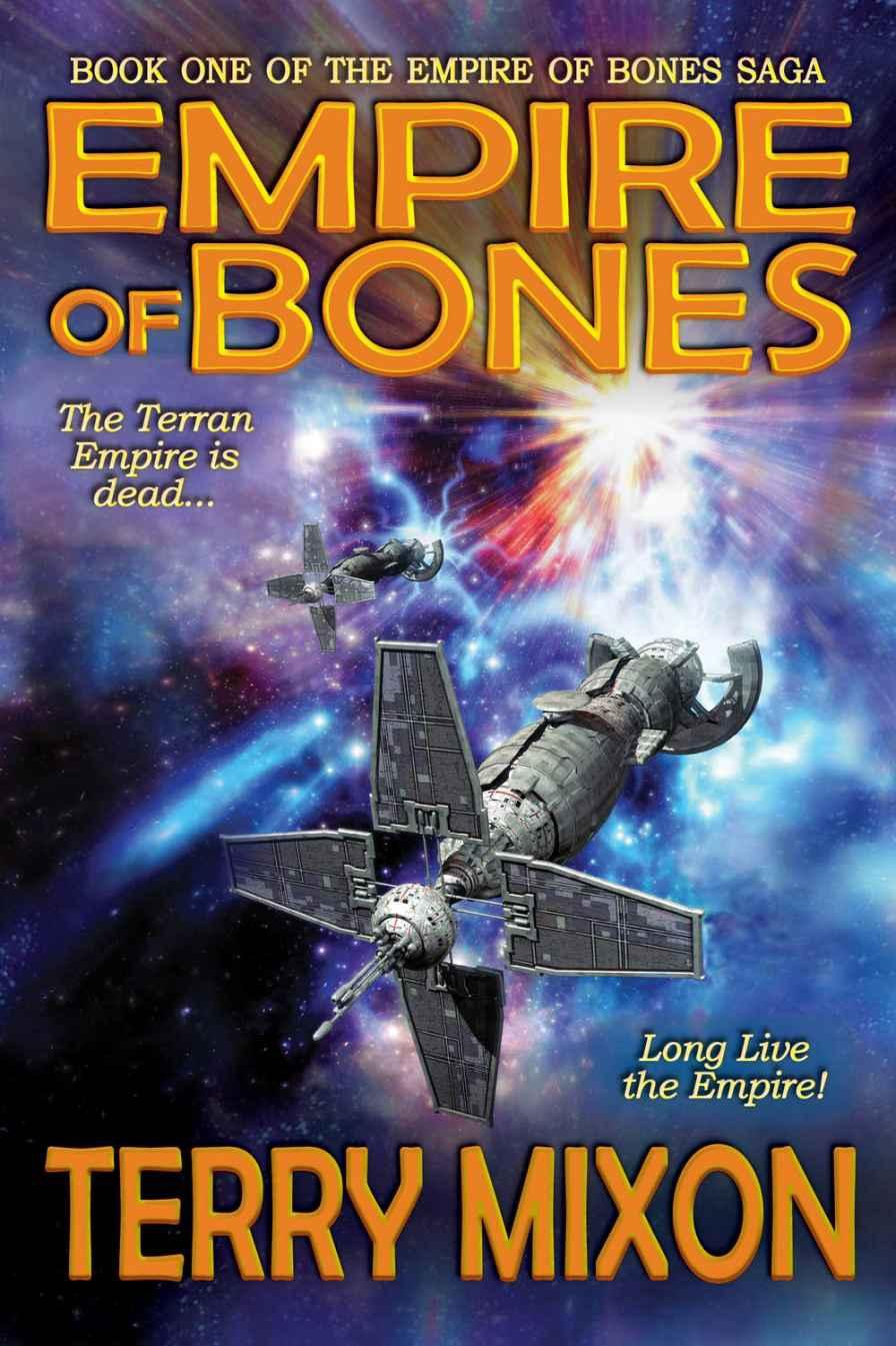 Empire of Bones – Easy to read and quite fun little space opera.
