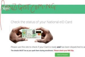 Check Your National ID Card Status - If Ready or Not