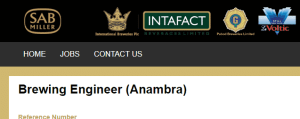 Brewing Engineer at SABmiller Plc