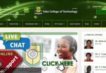 Yabatech HND Form FULL TIME 2017/2018