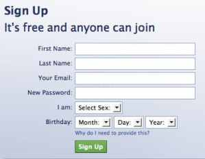 Facebook Sign Up | Create Facebook Account