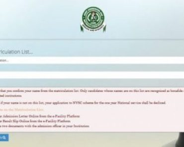 Correct Wrong Studied Course On JAMB Admission Letter For NYSC