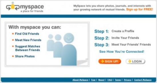 Myspace Registration - Get A Free Profile