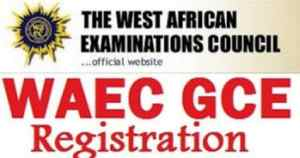 WAEC GCE registration 2018 Guide