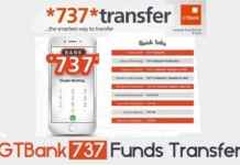 GTBank 737 Code Funds Transfer – Money Transfer