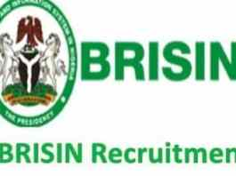 BRISIN Recruitment List of Shortlisted Candidates 2018/2019