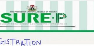 SURE-P Trainer Programme Application Form 2018