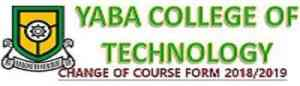 YABATECH CHANGE OF COURSE FORM 2019/2020