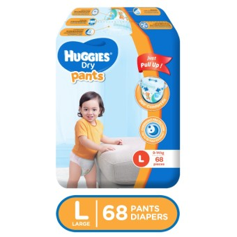 Huggies Dry Pants Large 68 pieces