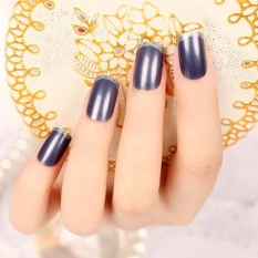 24pcs Natural French Short False Nails 3 Styles Acrylic Clical Full Artificial For Home Office Faux Ongles Intl
