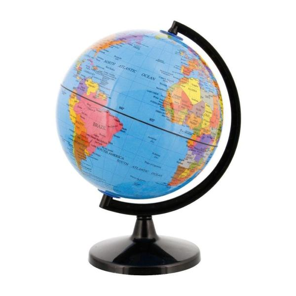 Geography Puzzle Toys for sale   Geography Toys online brands     World Map Globe Rotating Map  Small Size